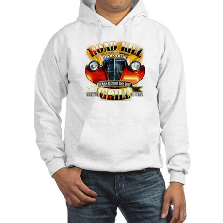 """Road Kill Grill!"" Hooded Sweatshirt"
