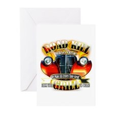 """""""Road Kill Grill!"""" Greeting Cards (Pk of 10)"""