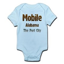 Mobile, Alabama - The Port City 1 Body Suit