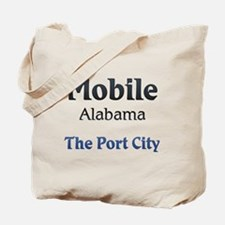 Mobile, Alabama - The Port City Tote Bag