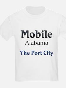 Mobile, Alabama - The Port City T-Shirt