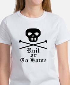 Knit or Go Home Women's T-Shirt