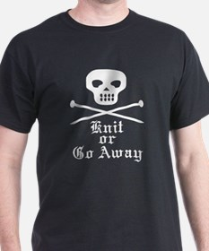 Knit or Go Away T-Shirt