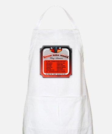 """Road Kill Menu!"" BBQ Apron"