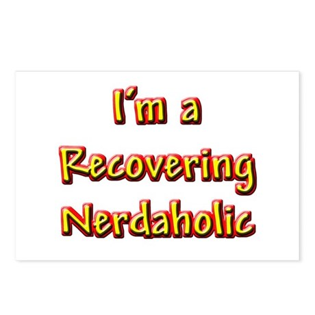 Recovering Nerdaholic Postcards (Package of 8)