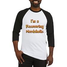Recovering Nerdaholic Baseball Jersey