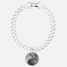 Astronaut Squirrel Charm Bracelet, One Charm
