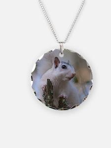 Astronaut Squirrel Necklace