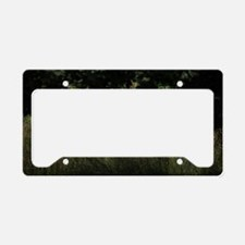 White Stag by Tom Conway License Plate Holder