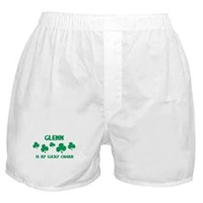 Glenn is my lucky charm Boxer Shorts