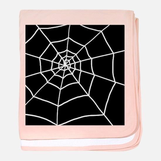 'Cobweb' baby blanket
