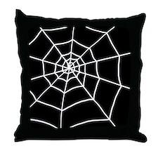 'Cobweb' Throw Pillow