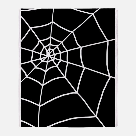 'Cobweb' Throw Blanket
