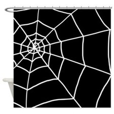 'Cobweb' Shower Curtain