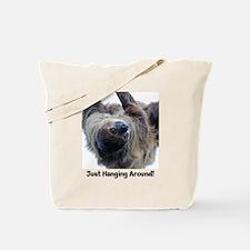 Just Hanging Around! Sloth Tote Bag