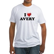 I LOVE AVERY SHIRT T-SHIRT AV Shirt