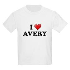 I LOVE AVERY SHIRT T-SHIRT AV Kids T-Shirt