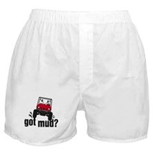 Got Mud? Red Rhino Boxer Shorts