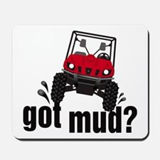 Got Mud? Red Rhino Mousepad
