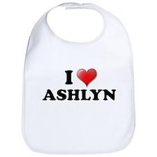 I LOVE ASHLYN SHIRT T-SHIRT A Bib