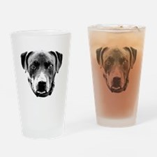 Cool Pittie Drinking Glass