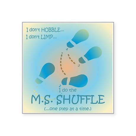 MS Shuffle Sticker
