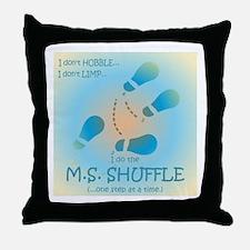 MS Shuffle Throw Pillow