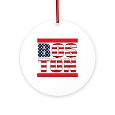 Boston Pride Ornament (Round)