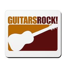 Guitars Rock! Mousepad