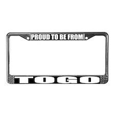 Togo License Plate Frame