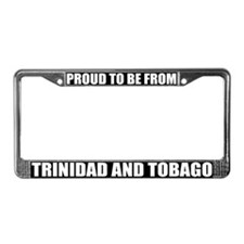 Trinidad / Tobago License Plate Frame