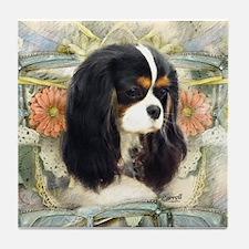Cavalier King Charles Spaniel Tile Coaster