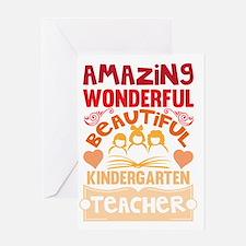 Cute Teach Greeting Card