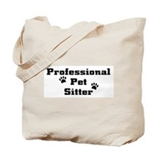 Professional Pet Sitter Tote Bag