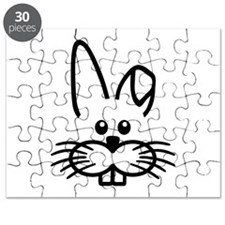 Bunny rabbit face Puzzle