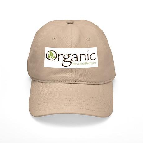 Organic for a healthier you Cap