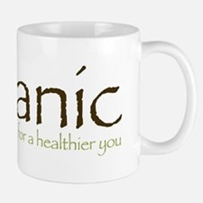 Organic for a healthier you Mug