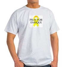 Pray for Enrique Ash Grey T-Shirt