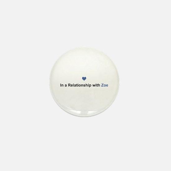Zoe Relationship Mini Button