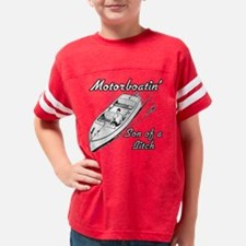 boatin white tees2 Youth Football Shirt
