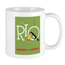 Rio, Brazil,Toucan, Bird, Travel, Vintage Poster M