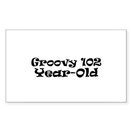 102 Rectangle Sticker