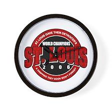 St. Louis Champions 2006 Wall Clock