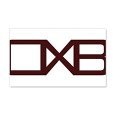 OXB Initial Wall Decal
