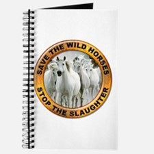 Save Wild Horses Journal