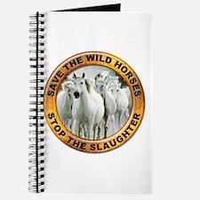 Save Wild Horses Journal