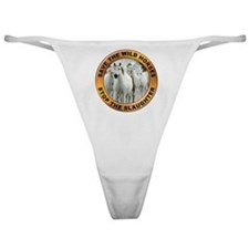 Save Wild Horses Classic Thong