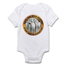 Save Wild Horses Infant Bodysuit