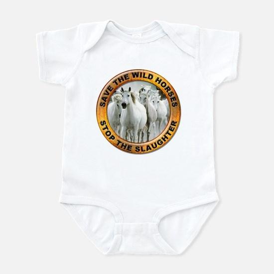 Save Wild Horses Infant Bodysuit