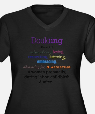 Doulaing Colorful Plus Size T-Shirt